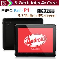 "New Arrival PiPO pad P1 android 4.4 tablet pc 9.7"" Retina 2048x1536pixels rk3288 1.6GHz 2GB RAM 32GB 4K Video HDMI GPS 10000mAH"
