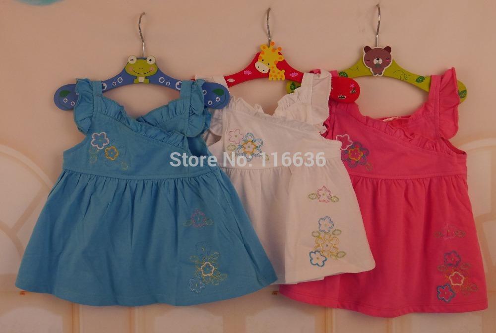 baby girl mini dress flowers girl summer spring fashion baby shower