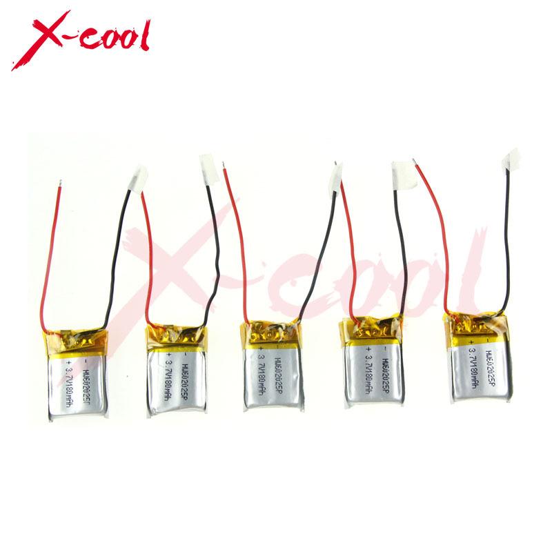 Запчасти и Аксессуары для радиоуправляемых игрушек X-cool 3.7V 180mAh /Syma S107 S107g, S107/19 Syma RC