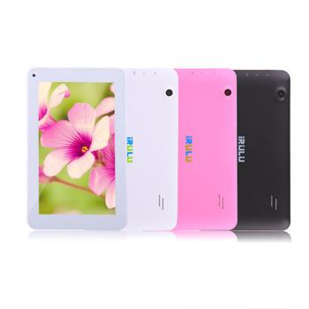 """Irulu бренд eXpro X1c 7 """" Android4.2 планшет пк Allwinner четырехъядерных процессоров двойная камера внешний 3 г / Wifi 8 ГБ ROM 2015 горячая лучший бюджет пк"""