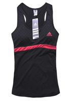 2015 fashion boutique breathable vest printed sports tennis vest sleeveless vest female summer with a chest pad free shipping