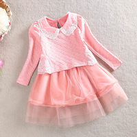 Fashion girls party dress new coming children summer dresses baby kids clothes child cute clothing free shipping YF-102