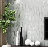 Great wall non-woven beige brown blue white  gold striped wallpaper,wall paper roll,papel de parede listrado,wallpaper plain