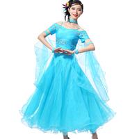 ballroom dance competition dresses 5colors S M L XL XXL ballroom  flamenco dresses beyonce costume waltz