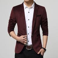 Freeshipping Fashion Brand Men's Dress Suit coat Korean Design Man Slim Fit Blazer Gentle Stylish Suit Jackets Male slim suit