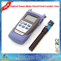 Tester Fibra Optica Medidor Fiber Optic Power Meter Red Laser 1mw Localizador Visual de Fallos
