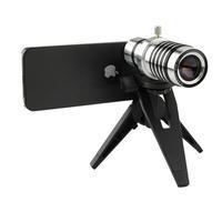 12x Optical Zoom Brand New Moblie Phone Camera Lens Aluminum  Manual Focus Telephoto Lens for iPhone 5G