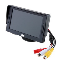 Free Shipping 4.3 inch Sunshade DVR Car Rearview Monitor for Reverse Backup Camera