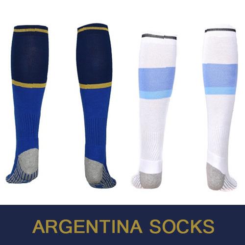 Argentina Socks Argentina World cup 2014 soccer socks Blue football socks white masculinas meias sport calcetines de futbol men(China (Mainland))