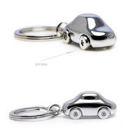 Car key chain car model Smooth metal car key chain ideas