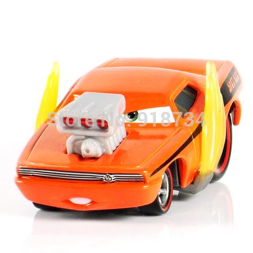 100% original Pixar Cars diecast figure TOY SNOT ROD WITH FLAMES(China (Mainland))
