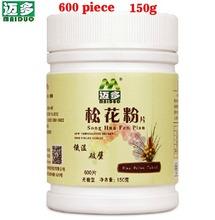 Genuine 600pcs Maiduo Tea Pure Natural Pine Pollen Tablet China Yunnan Maiduo Tea 150g Free Shipping