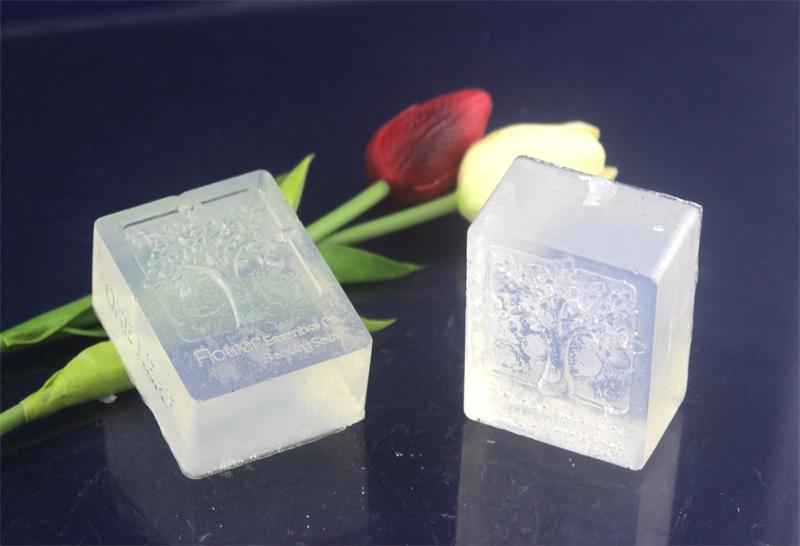 10oz(2pcs) High Quality Transparent Soap Base DIY Handmade Soap Raw Materials Soap Base for Soap MakingVacuum .free shipping(China (Mainland))