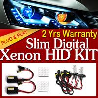 12V 55W  Dual beam H4-2 Xenon kit 4300K 5000K 6000K fast start Car Hid Xenon Kit Slim mini  Ballast &H1/H3/H4/H7block fast start