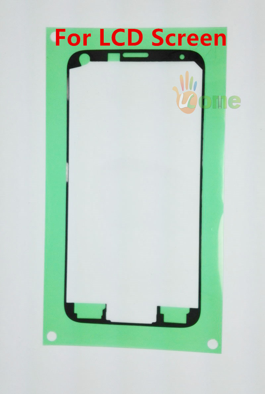 20PCS Original For Samsung Galaxy S5 G900 i9600 LCD Digitizer Frame Bezel Front Housing 3M Sticker Adhesive Tape Free Shipping(China (Mainland))