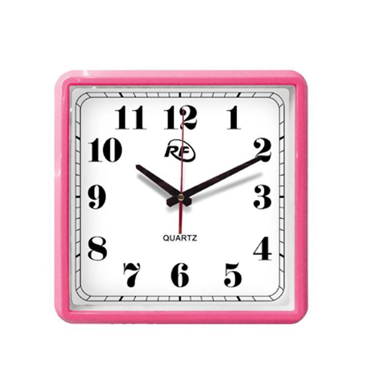 Free Shipping Square Wall Clock Quartz Clock Home Decor Digital Watch Hot New Product China Factory Wholesale(China (Mainland))