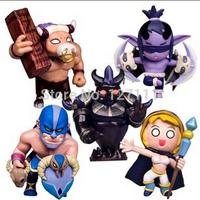 DOTA 2  Q version Anime WOW SF movie magic Tauren PVC Action Figures Collection Toys brinquedos meninas kids toys