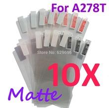 10PCS MATTE Screen protection film Anti-Glare Screen Protector For Lenovo A278T
