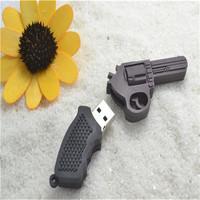 Cheap usb id card reader USB Flash Drive plastic pistol 8GB 16GB 32GB USB Pen Drive Memory Stick Pen Drive S19