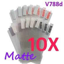 10PCS MATTE Screen protection film Anti-Glare Screen Protector For ZTE V788d