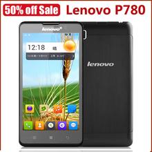 "Original Lenovo P780 Express Quad Core cell phones MTK6589 5.0"" Gorilla Glass 1GB 4GB 8MP Camera Dual SIM 4000mAh Battery"