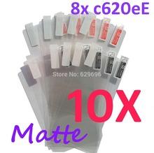 10PCS MATTE Screen protection film Anti-Glare Screen Protector For HTC 8X  C620e Accord