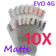 10PCS MATTE Screen protection film Anti-Glare Screen Protector For HTC EVO 4G