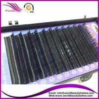 New style,fashion style,0.07mm J/B/C/D curl 5 trays/lot 3D 6D volume lashes false eyelash extension