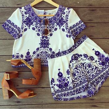 2015 vestido de festa Women Dresses Plus Size China element pattern short Sleeve Mini Club Party Dress Free Shipping