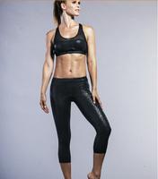 Fashion design pants for yoga bright black Running pants legging Spandex pant Lycra Legging 120 pcs/lot free shipping