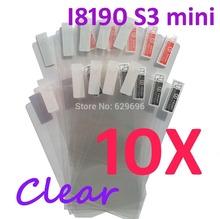 10PCS Ultra CLEAR Screen protection film Anti-Glare Screen Protector For Samsung I8190 Galaxy S3 mini