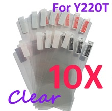 10PCS Ultra CLEAR Screen protection film Anti-Glare Screen Protector For Huawei Y220T