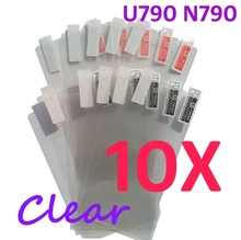10PCS Ultra CLEAR Screen protection film Anti-Glare Screen Protector For ZTE U790 N790