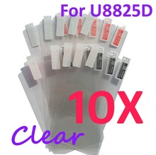 10PCS Ultra CLEAR Screen protection film Anti-Glare Screen Protector For Huawei U8825D