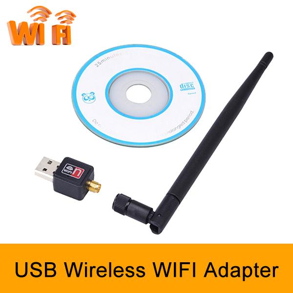 USB Wireless wifi Adapter with 5dB Antenna 150Mbps LAN Network LAN Card Portable Mini Router for Desktop Laptop 802.11b/g/n(China (Mainland))