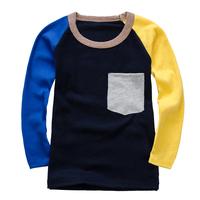 2015 New Arrival Boys T-shirt Kids Tees Baby Boy tshirts Children tees Long Sleeve 100% Cotton Cars Fireman Top Quality