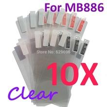 10PCS Ultra CLEAR Screen protection film Anti-Glare Screen Protector For Motorola MB886 ATRIX HD