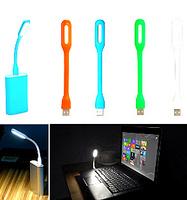 2015NEW!! DC 5V 1.2W USB LED Lamp Light Portable Flexible Led Lamp for Notebook Laptop Tablet PC USB Power.