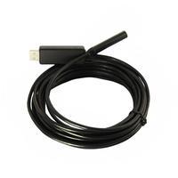 US! 5M Cable 8.5MM Lens USB 2.0 HD 6 LED Borescope Endoscope Inspection Tube Visual Camera 2  Megapixel  IP66 Waterproof