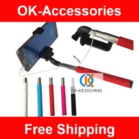 1 Pcs /lot Universal Extendable Self Portrait Selfie Stick Handheld Monopod For iphone For samsung IOS Android Phones Camera