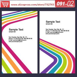 Визитная карточка 0091/02 vista printio визитная карточка