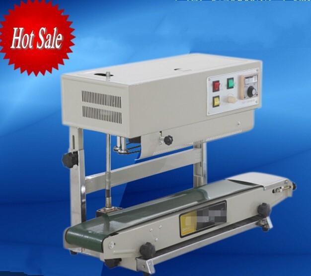 free shipping 110V/220V verical plastic bag heat sealing machine food bag heat sealer for liquid or paste package(China (Mainland))