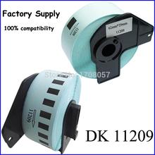 62mm*29mm*800pcs Adhesive Compatible Brother Thermal QL Series Printer Cartridge DK11209(Freeshipping)