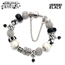 2015 latest design High Quality Silver alloy European Beads Fit Pandora Charms Bracelet  and free shipping