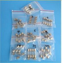20MM Glass Tube Fuse Assortment Kit 250V 0.5A 1A 2A 3A 4A 5A 8A 10A 15A 20A