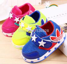 2015 Therme Modelle bonbonfarben mesh schuhe baby turnschuhe für Jungen und mädchen sportschuhe Alter 0-24 Monat(China (Mainland))