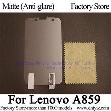 Матовая с антибликовым покрытием матовый жк-экран протектор гвардии крышки защитная пленка для Lenovo A859 A859i