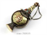 BYH005  Nepal Snuff bottle pendants,Tibetan Buddha mantras amulets box,Collectibles Wholesale Tibet Fork Arts