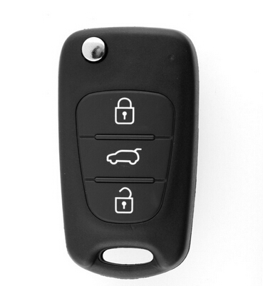 Replacement Folding Remote Keyless Entry Key CASE Shell 3 BUTTONS For KIA SORENTO SPORTAGE CERATO RIO Uncut Blade(China (Mainland))