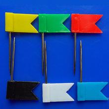 Отличная 20 шт. 5 цвет флаг росту шпильки гвоздь чертёжные кнопки для дома офис школа поставки пробка доска Map рисунок